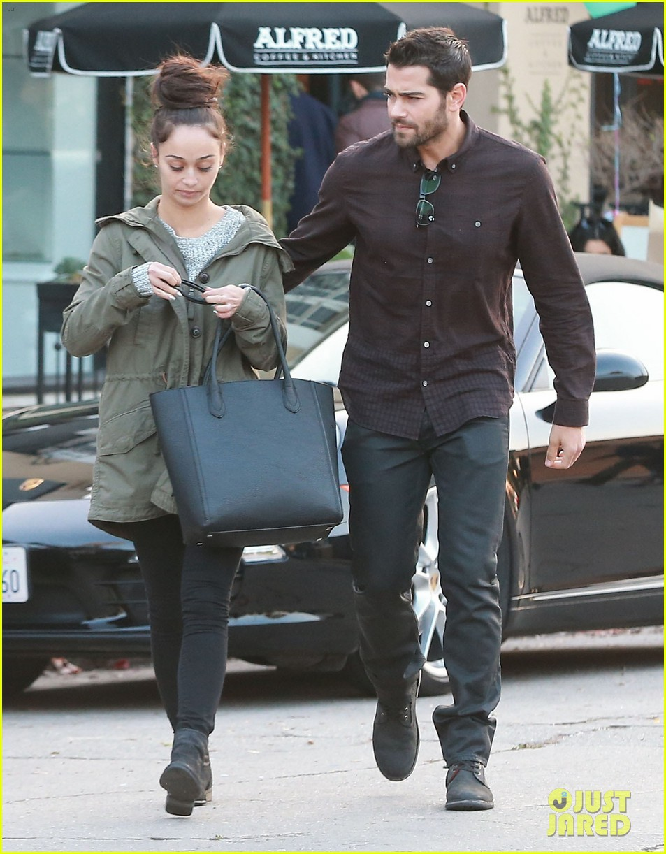 jesse metcalfe cara santana lunch with the jew crew 173016137