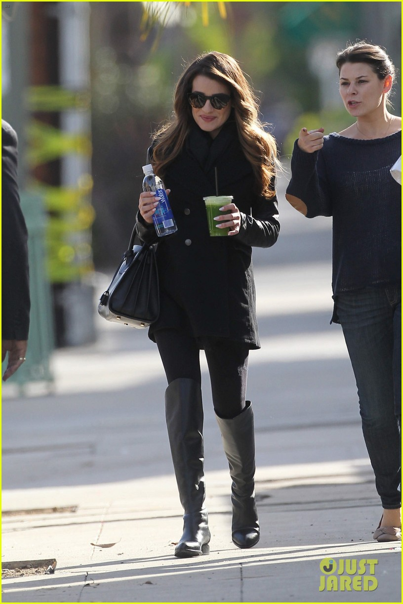 lea michele cannonball makes radio debut with elvis duran 033012917