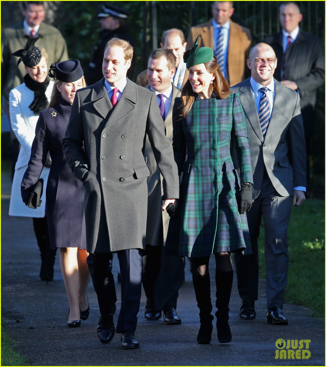 kate middleton prince william christmas day service with prince harry 03