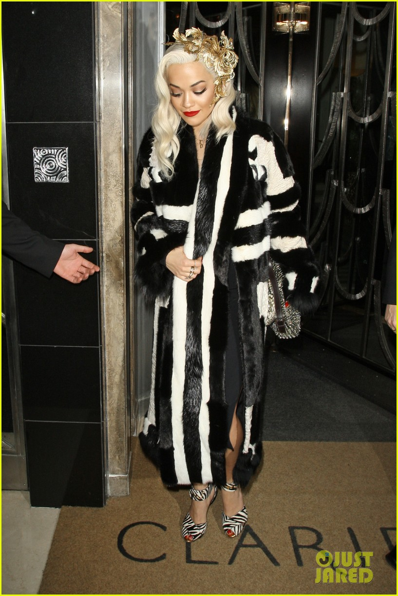 rita ora steps out after fifty shades casting news 10