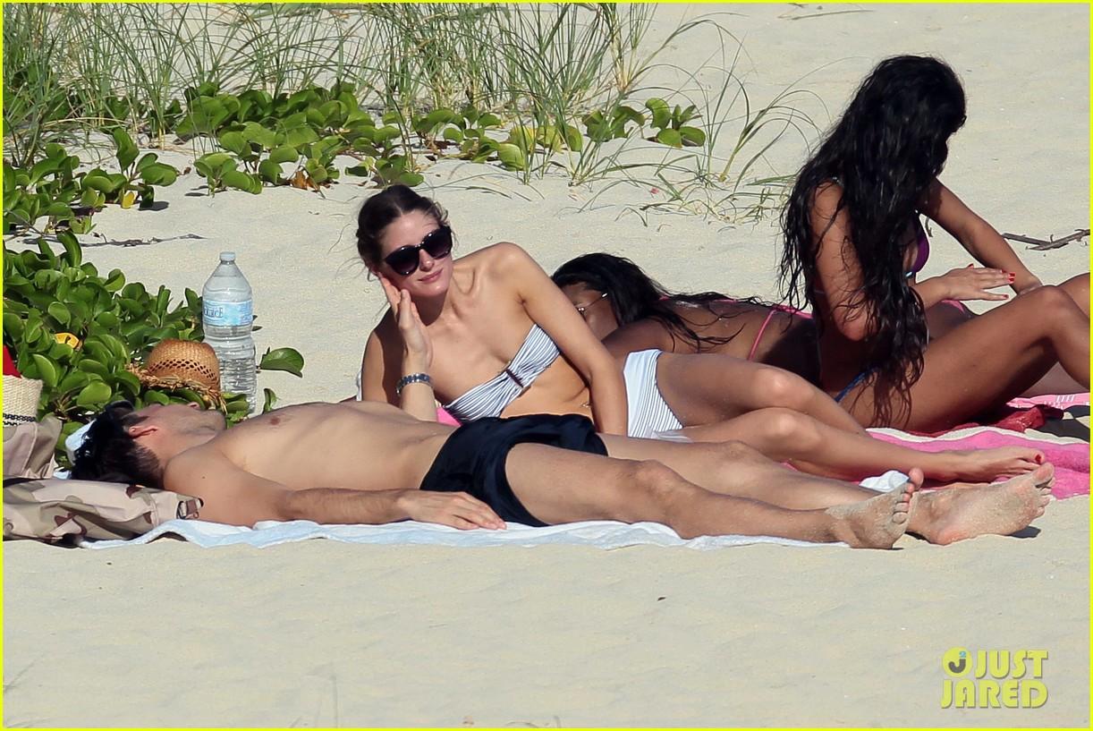 olivia palermo johannes huebl st barts beach vacation 04