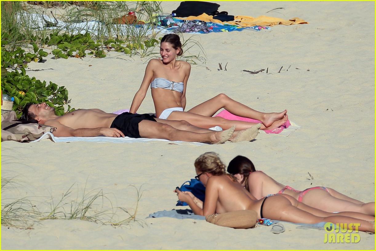 olivia palermo johannes huebl st barts beach vacation 10