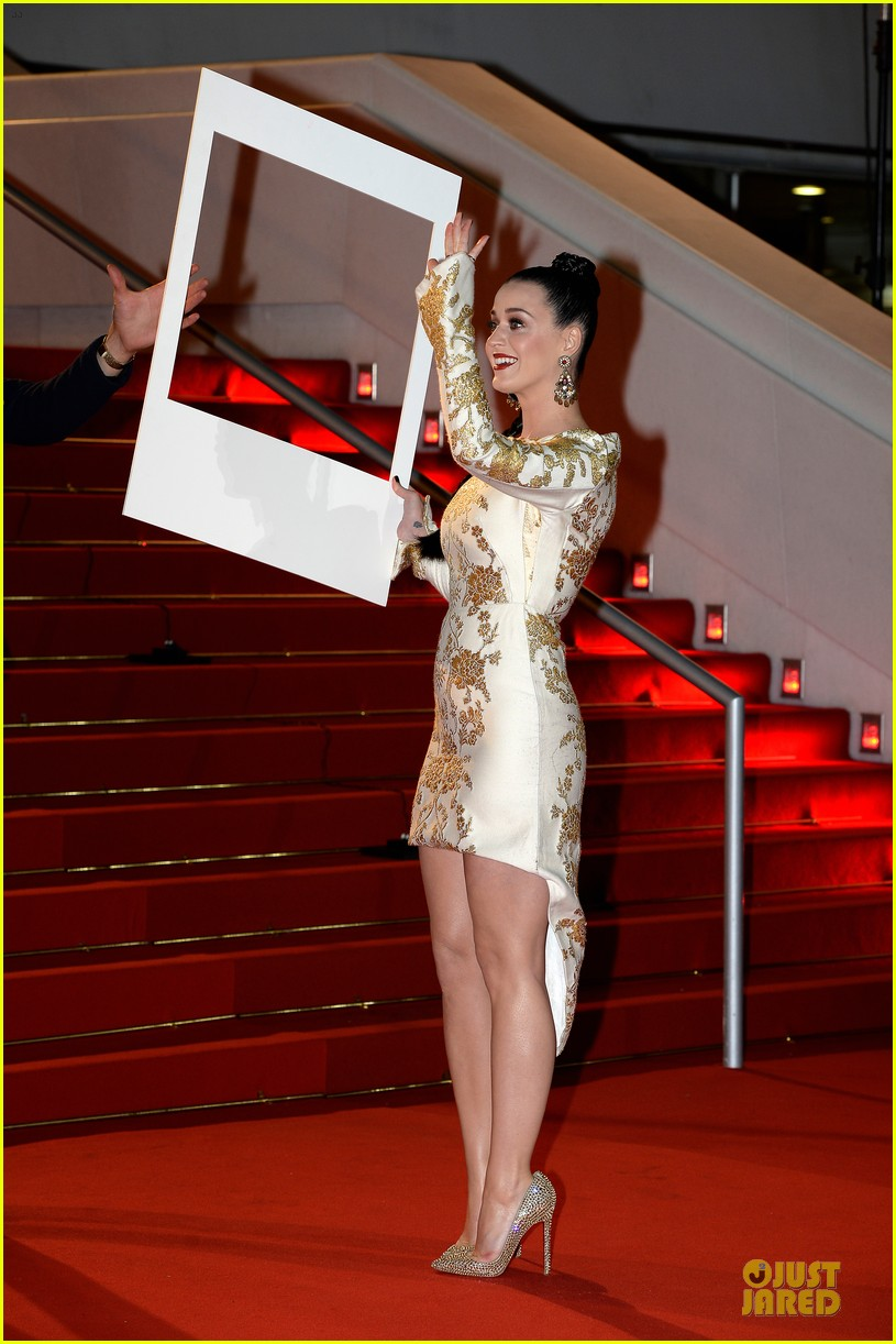 katy perry golden girl at nrj music awards 2013 223011965