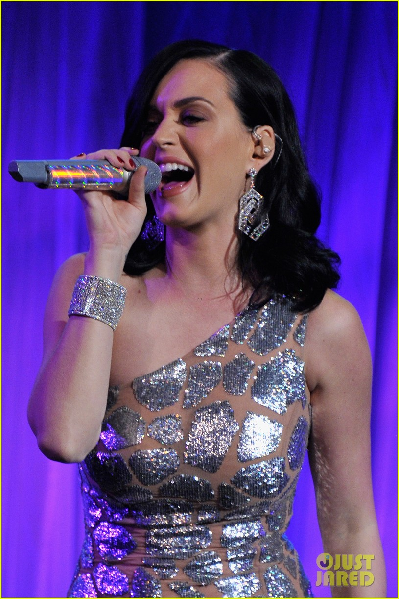 katy perry unicef snowflake ball 2013 performer 013004888