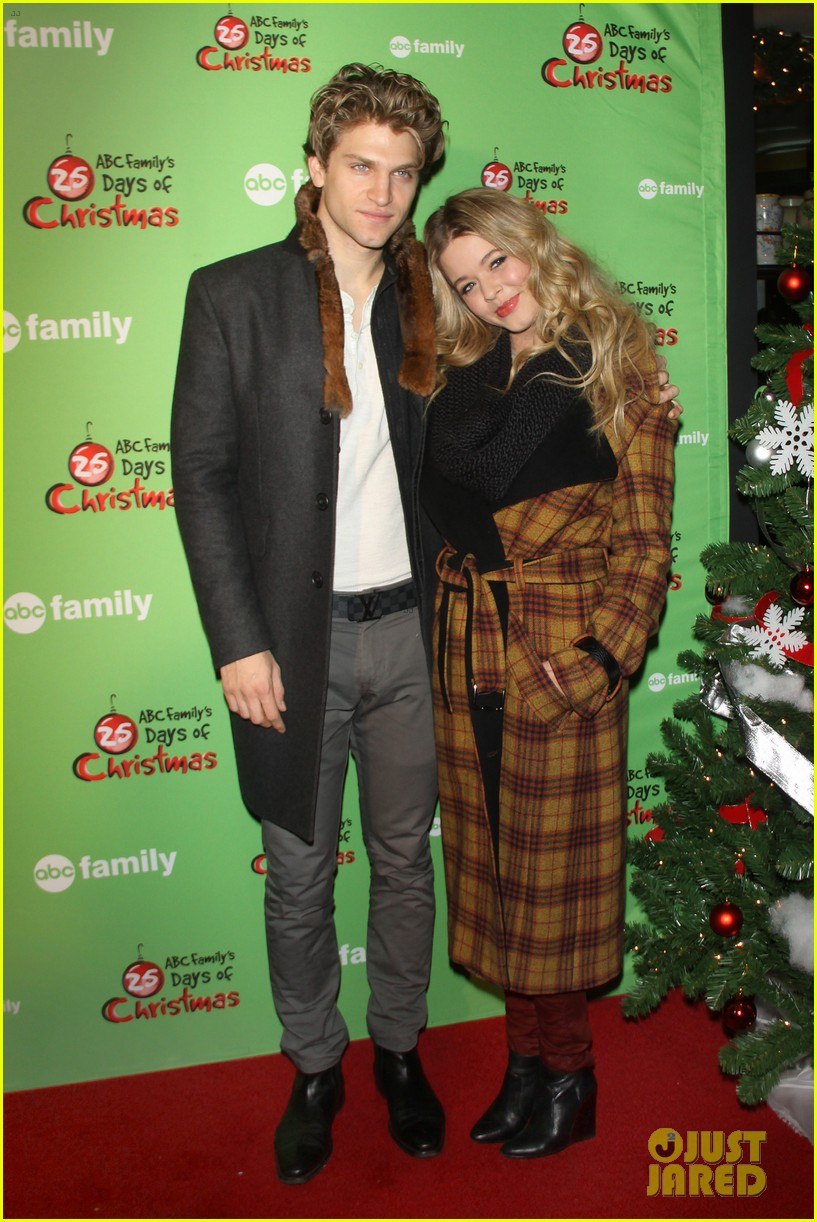 sasha pieterse keegan allen 25 days of christmas winter wonderland 23