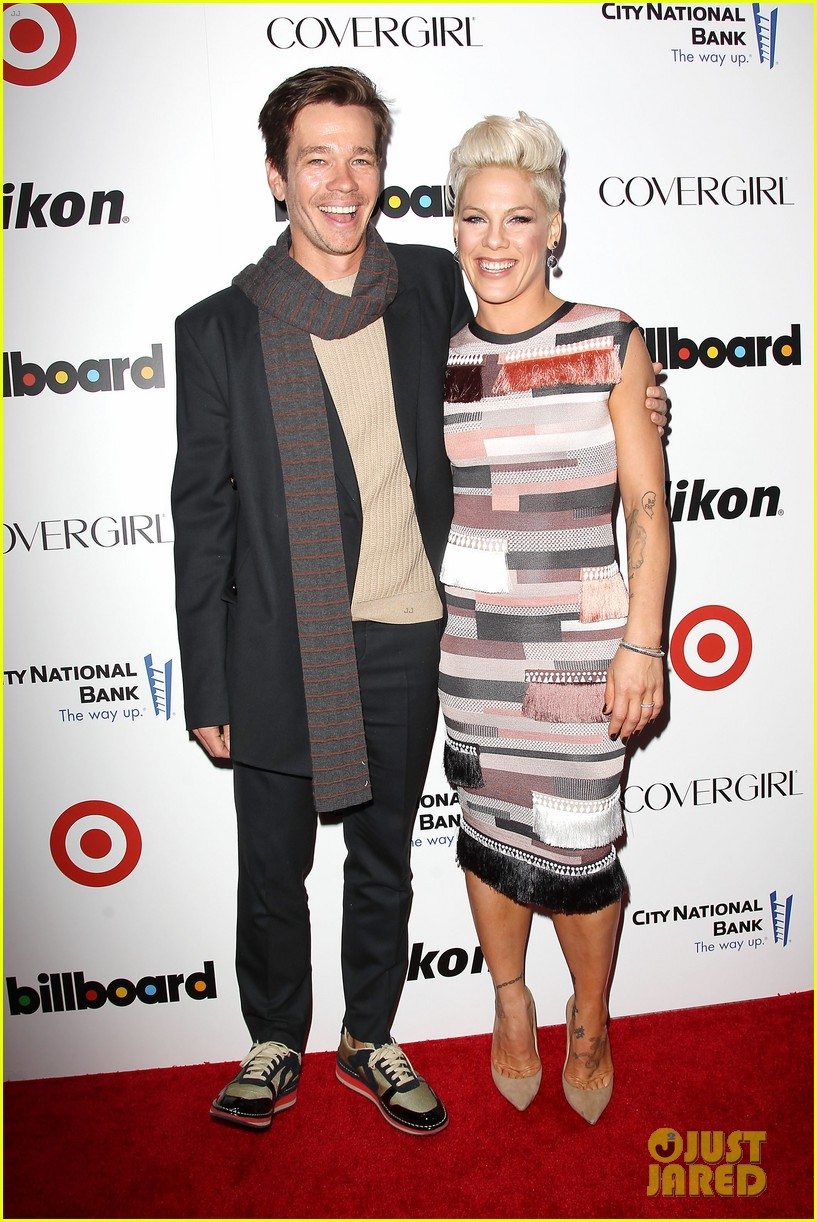 pink billboard women in music event with carey hart 123009187