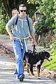 freddie prinze jr walks the dog with son rocky 03