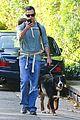 freddie prinze jr walks the dog with son rocky 09