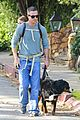freddie prinze jr walks the dog with son rocky 10
