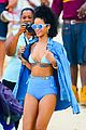 rihanna bikini beach babe for barbados christmas 14