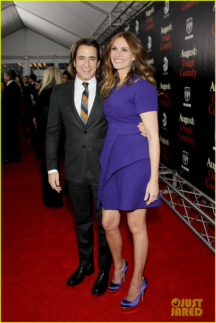 julia roberts durmot mulroney august osage county ny premiere 213010874