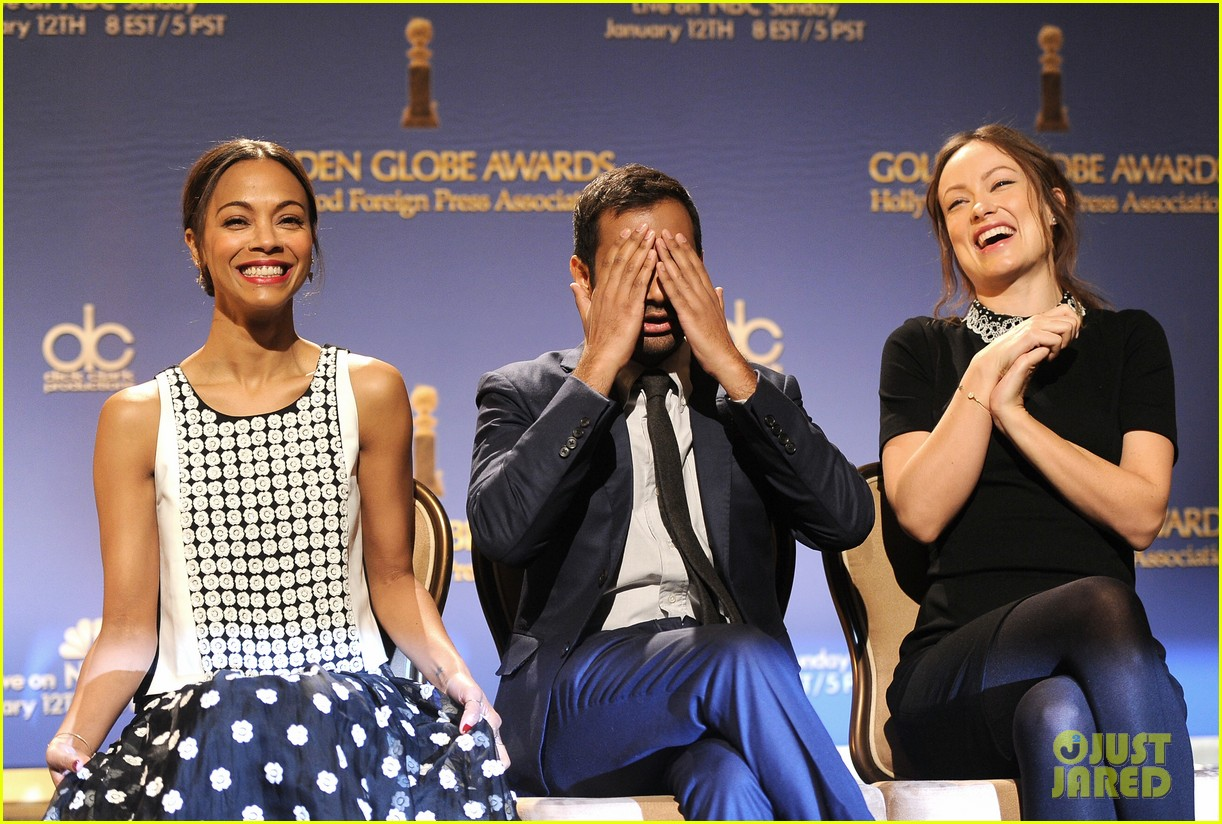 zoe saldana olivia wilde announce golden globe nominees 03