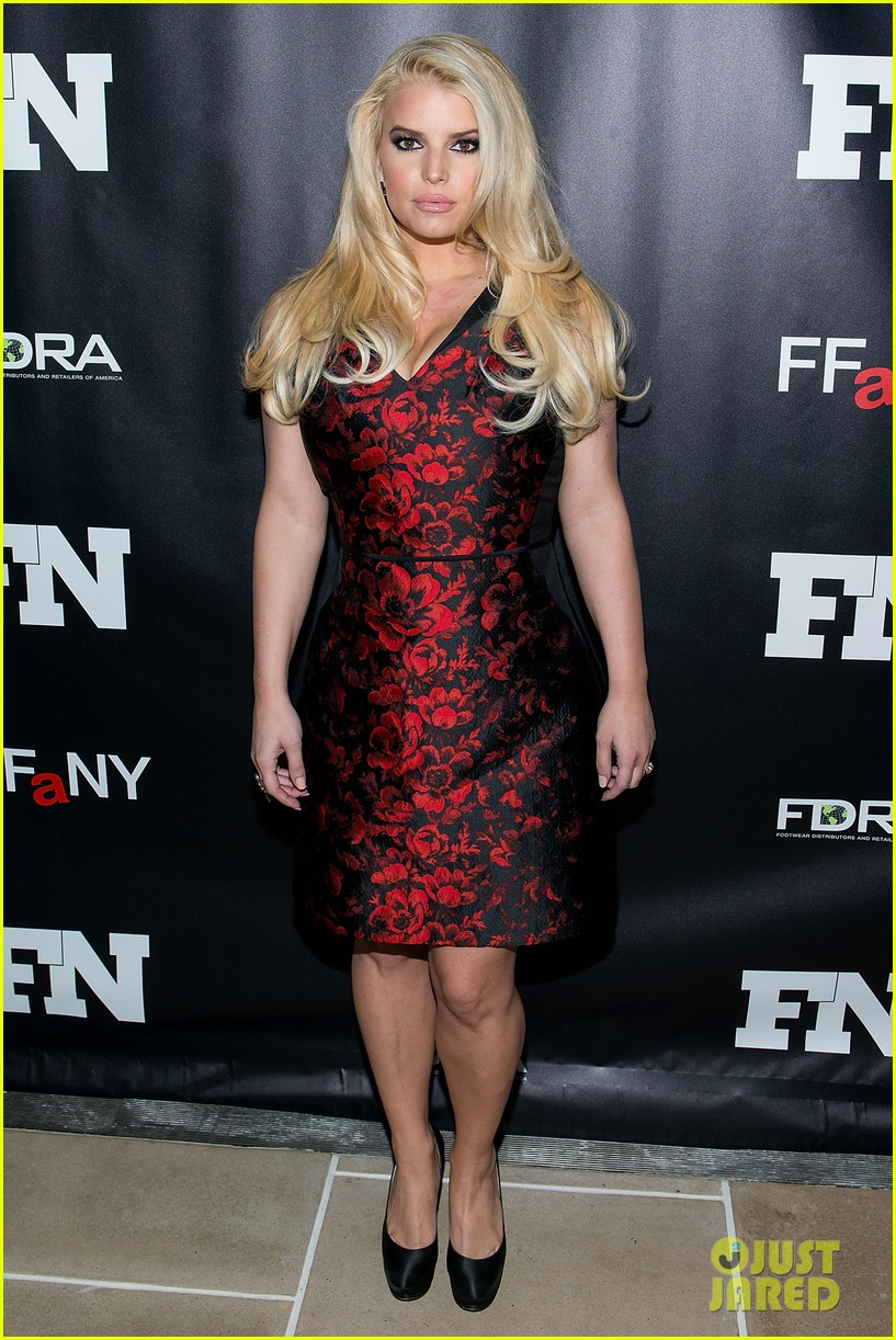 jessica simpson footwear news achievement awards 2013 043004859