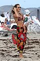 molly sims hot bikini mama with baby brooks 09