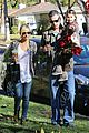 sarah michelle gellar freddie prinze jr christmas party with charlotte 06