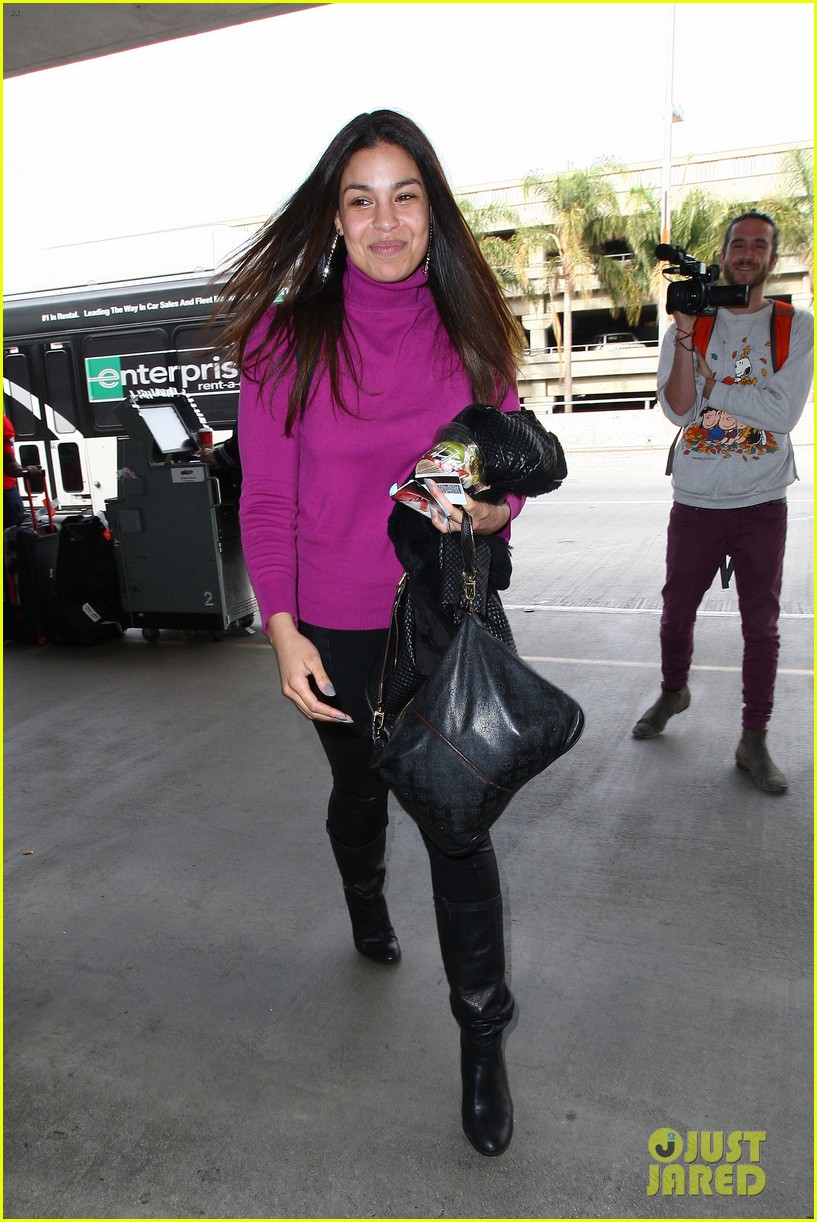 jordin sparks jennifer hudson idol ladies at lax airport 193014723