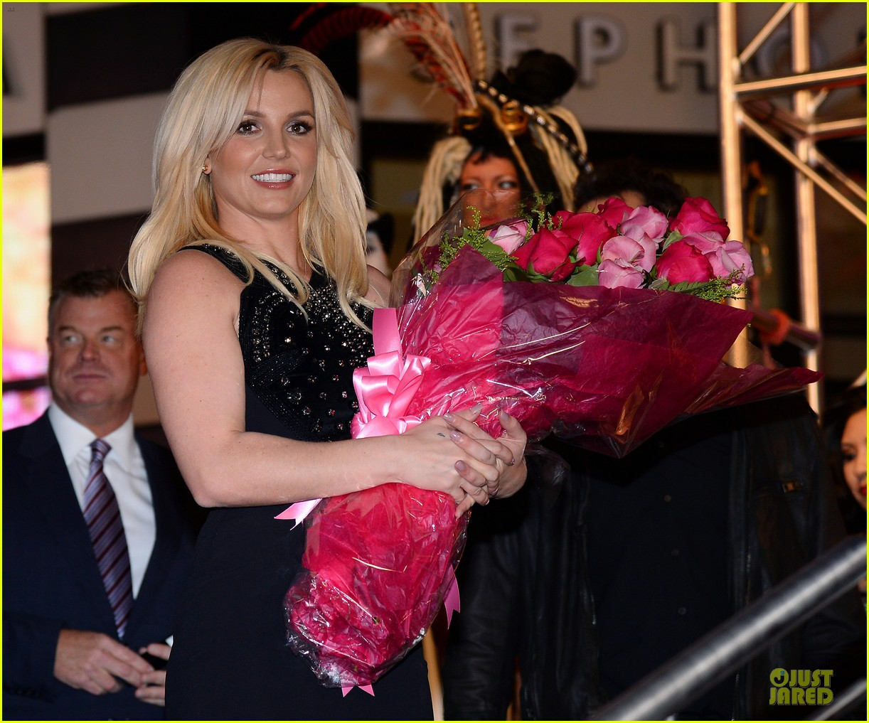 britney spears britney jean record release party 09
