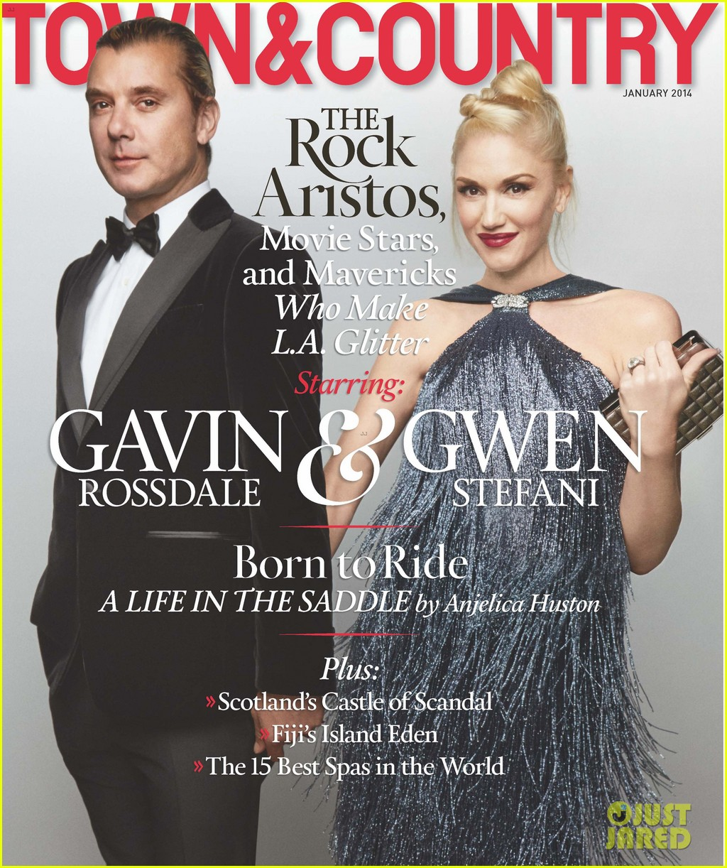 gwen stefani gavin rossdale cover town country january 2014 053003434