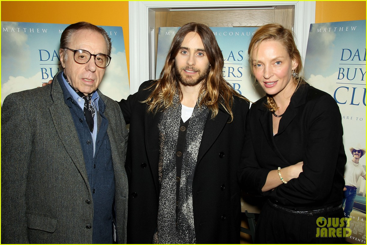 uma thurman jared let dallas buyers club nyc screening 113004814
