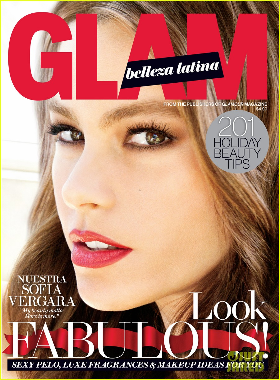 sofia vergara covers glam belleza 043011290