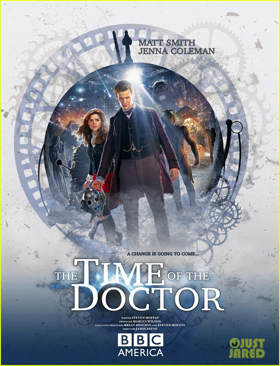 matt smith doctor who christmas special stills posters 01