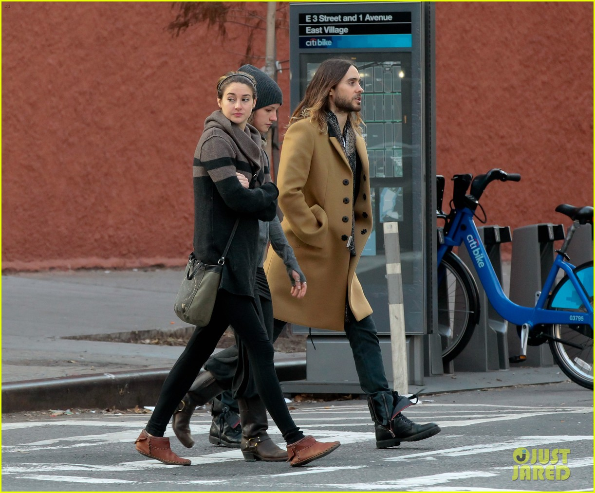 shailene woodley jared leto hang out in new york city 01