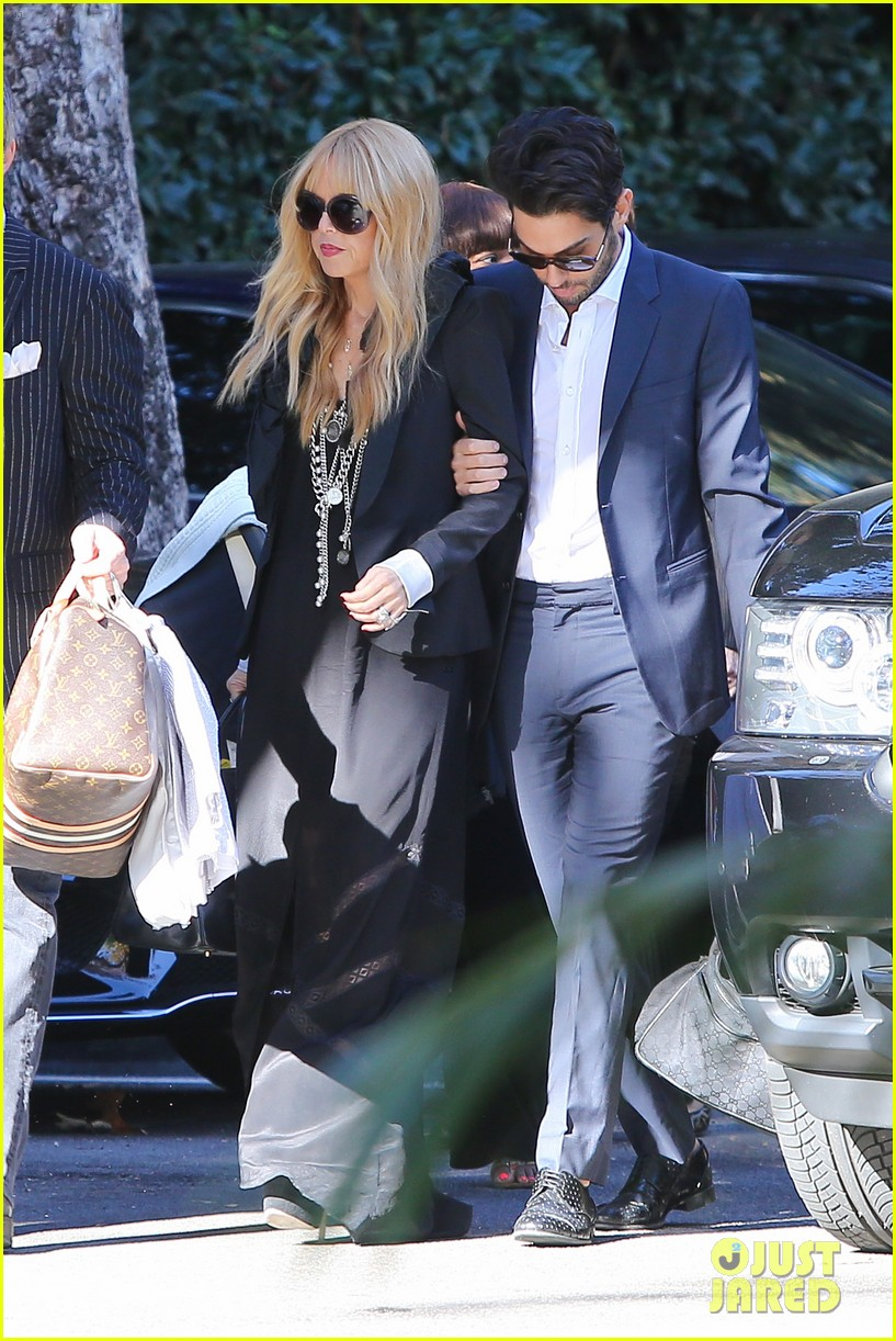 rachel zoe steps out with newborn baby kai 04