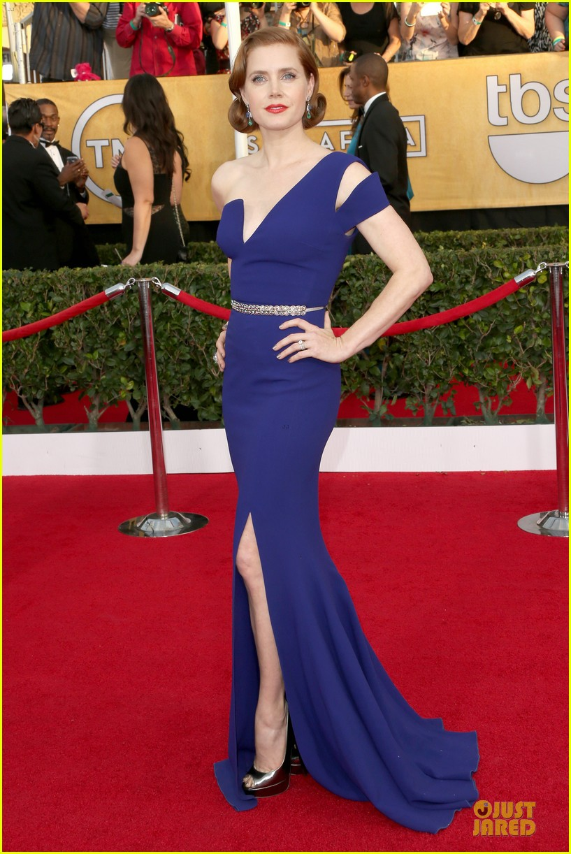 amy adams sag awards 2014 red carpet 02