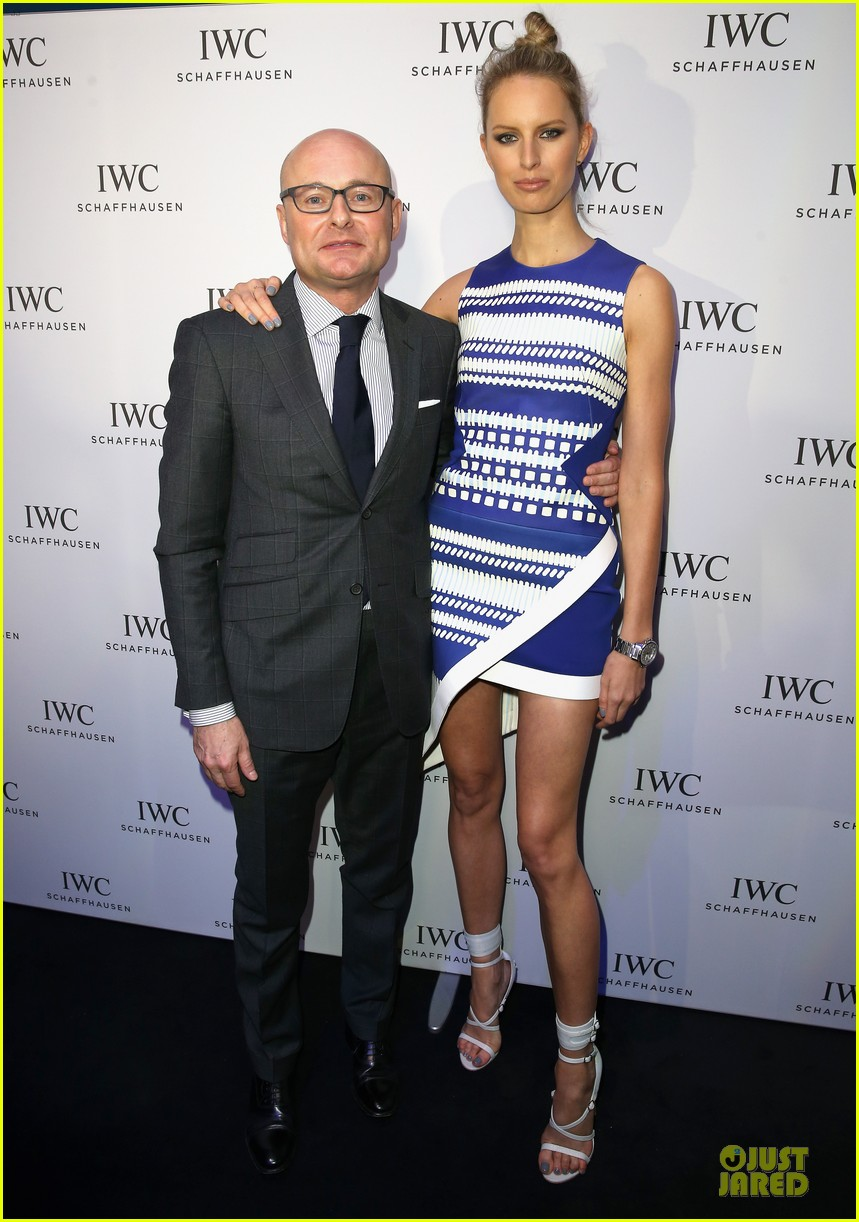 adriana lima karolina kurkova iwc aquatimer watch launch 053037283