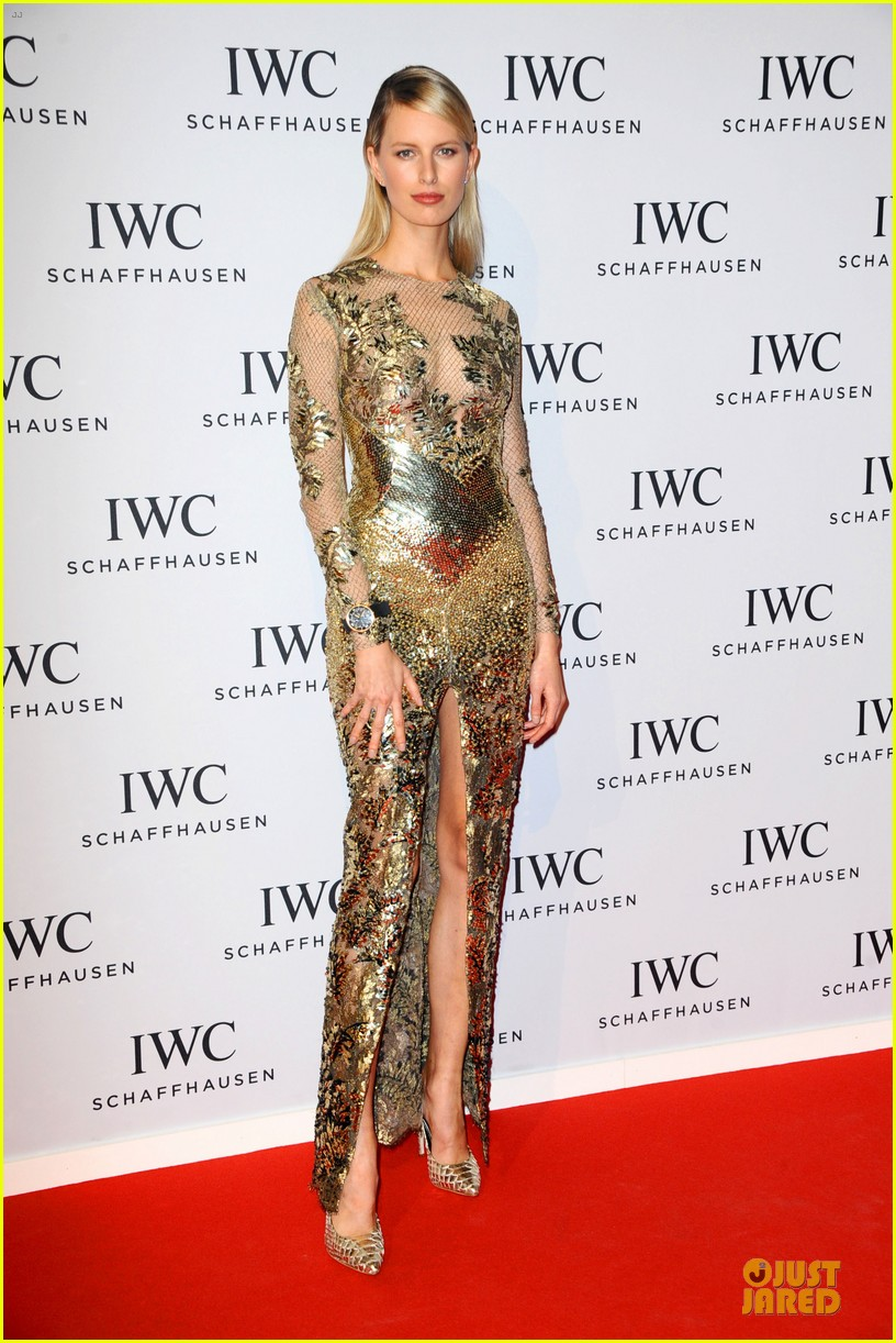 adriana lima karolina kurkova iwc aquatimer watch launch 213037299