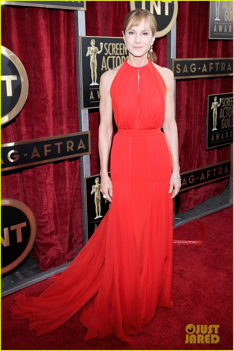 sasha alexander holly hunter sag awards 2014 red carpet 053035022
