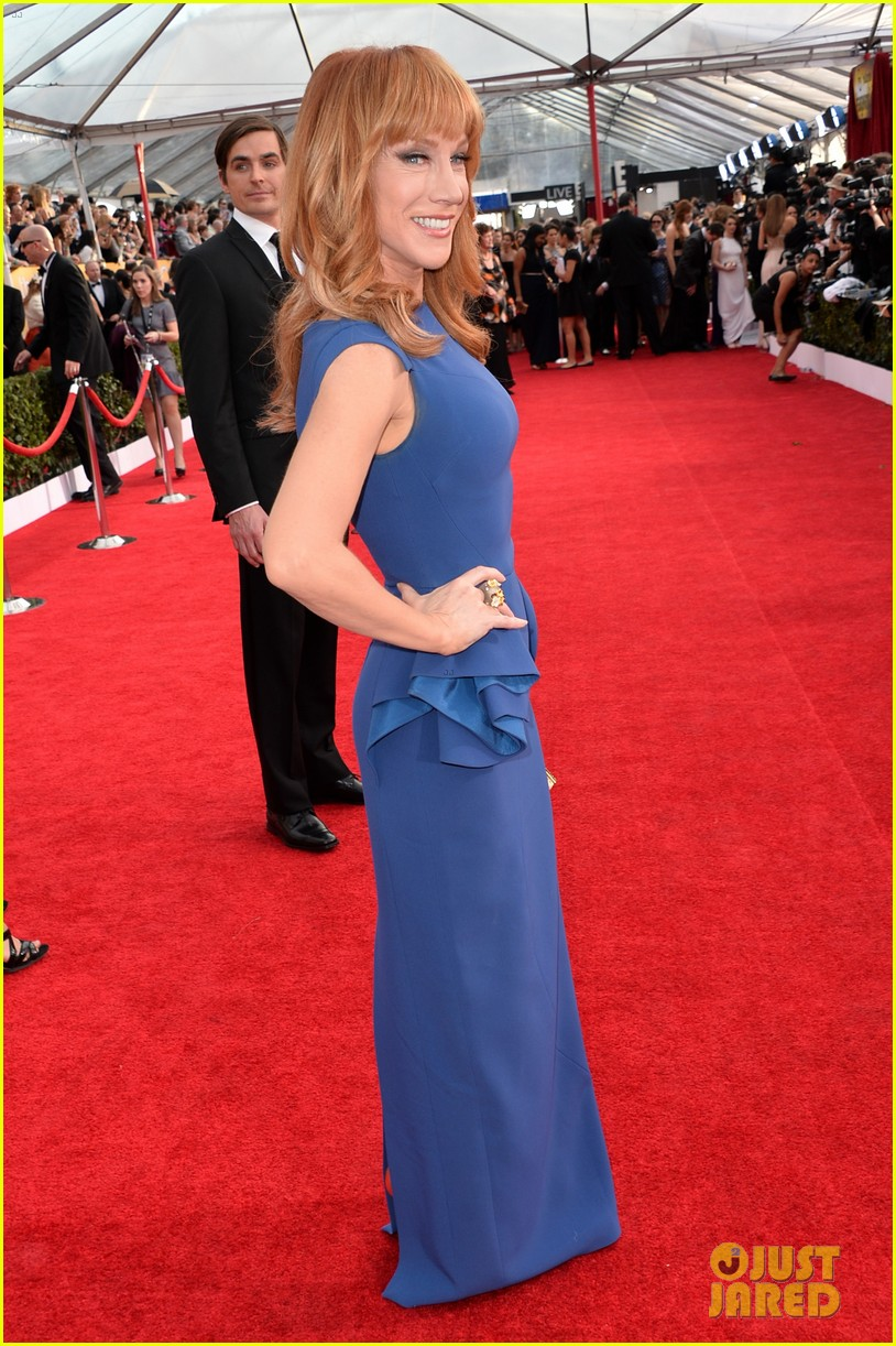 sasha alexander holly hunter sag awards 2014 red carpet 11