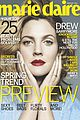 drew barrymore covers marie claire february 2014 02