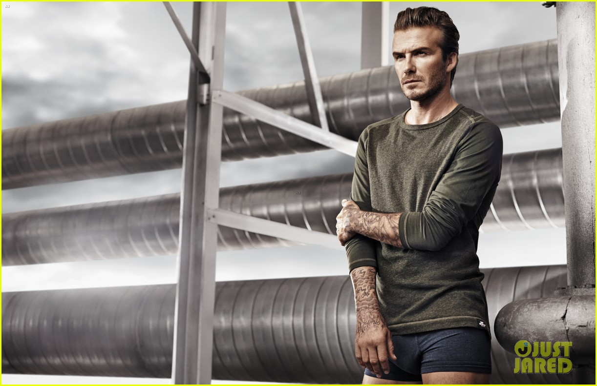 david beckham shirtless in hm super bowl commercial clip 063038821