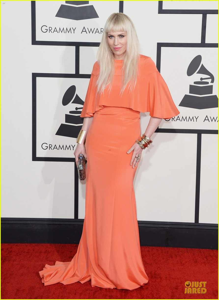 natasha bedingfield grammys 2014 red carpet 073041256