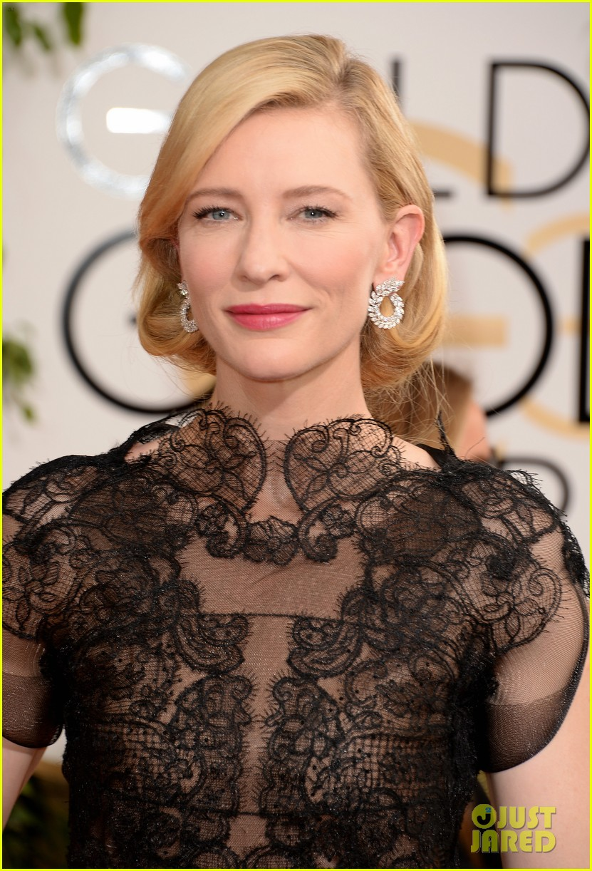 cate blanchett golden globes 2014 red carpet 023029228