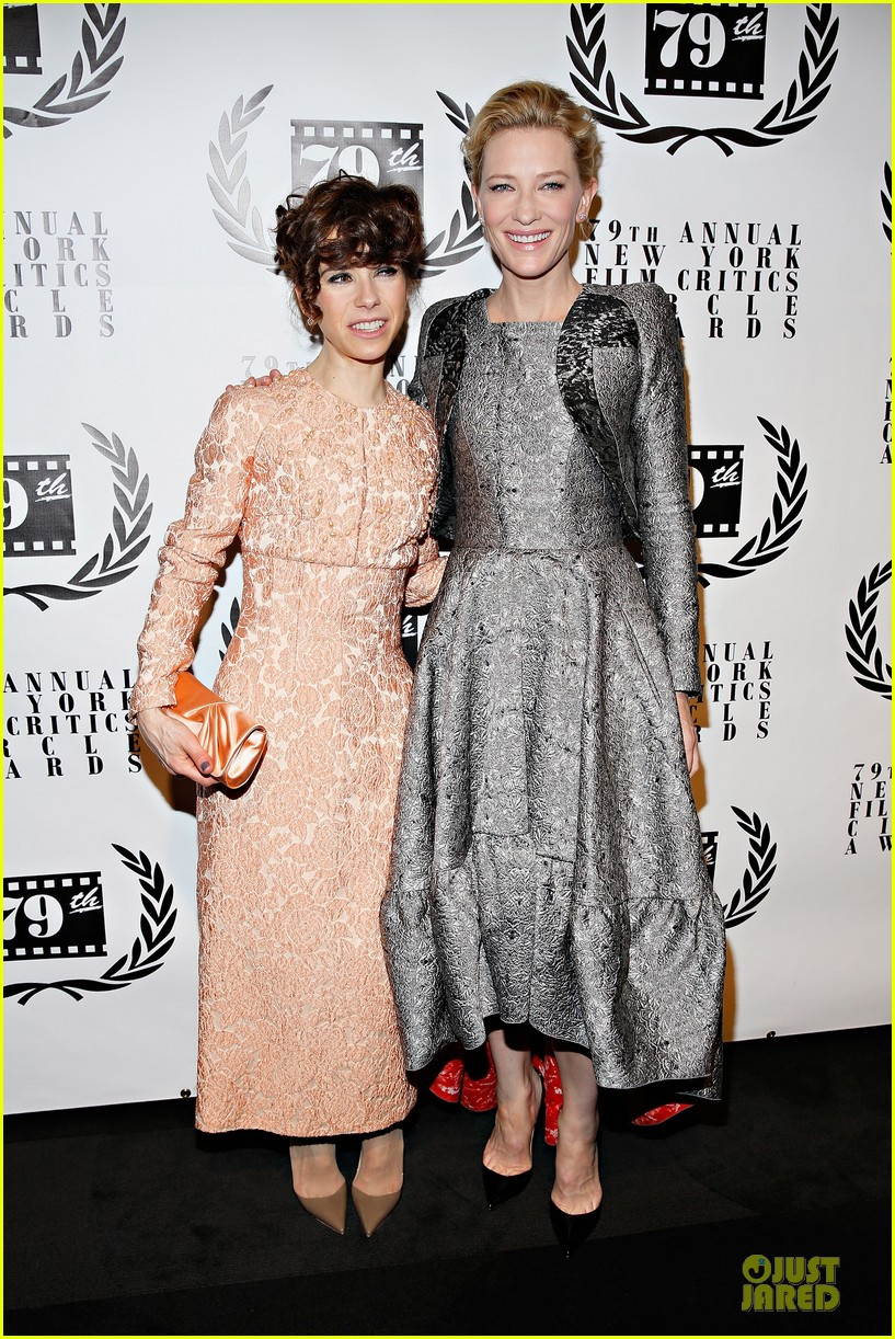 cate blanchett new york film critics circle awards with sally hawkins 033024150