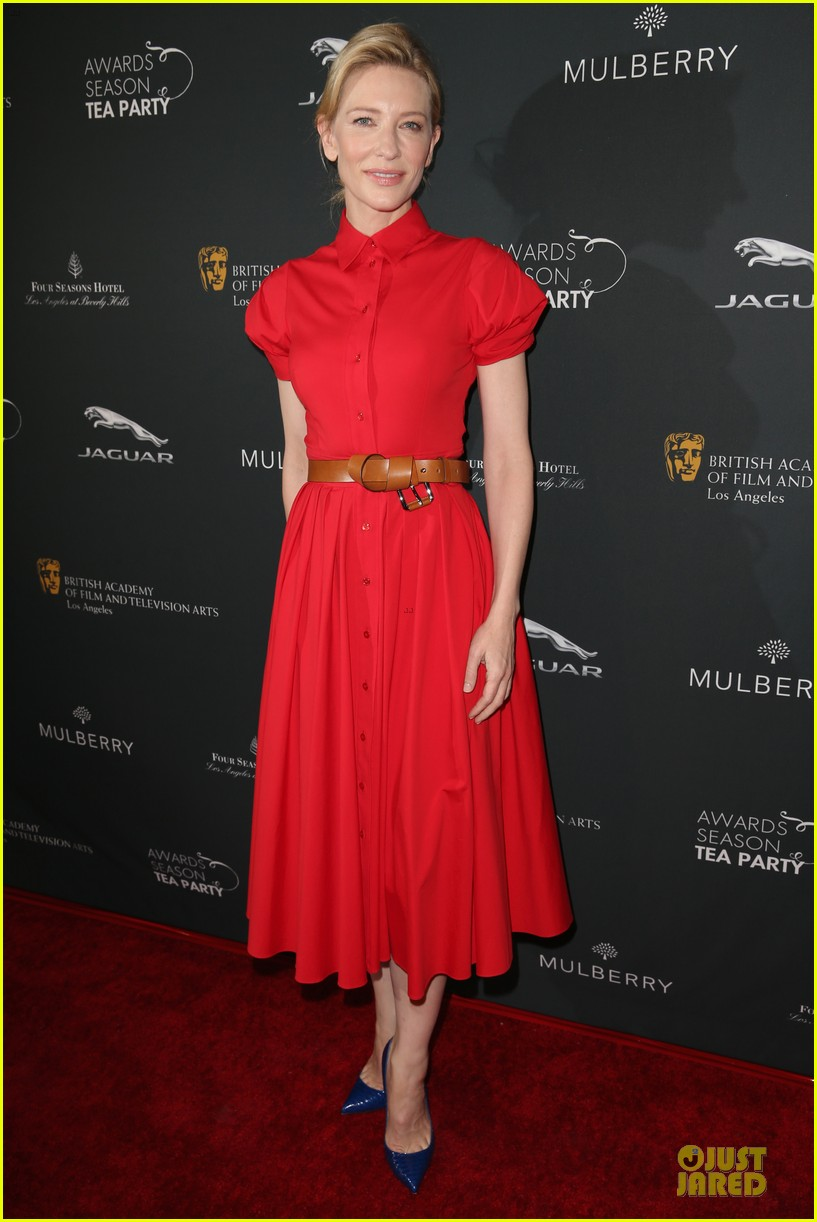 cate blanchett brit marling bafta tea party 2014 13