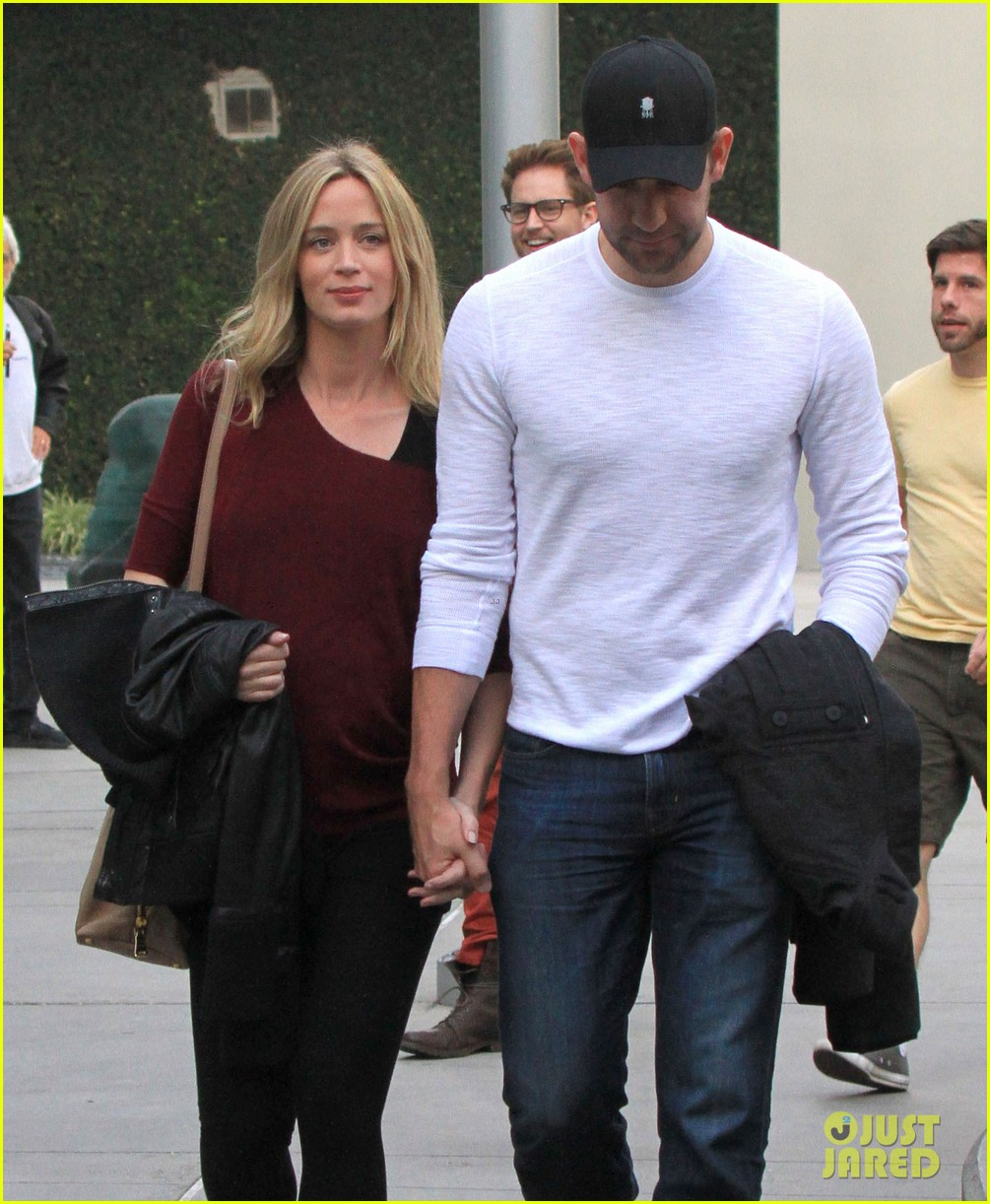 emily blunt john krasinski catch up on their movies 063022703