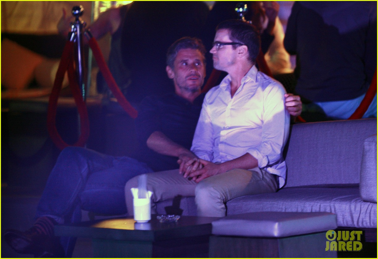 matt bomer cuddles simon halls at birthday celebration in cabo 203036386