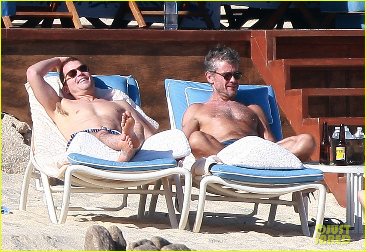 matt bomer shirtless sexy cabo vacation with simon halls 243035185