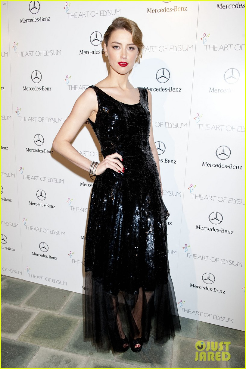 kate bosworth amber heard art of elysium heaven gala 2014 22