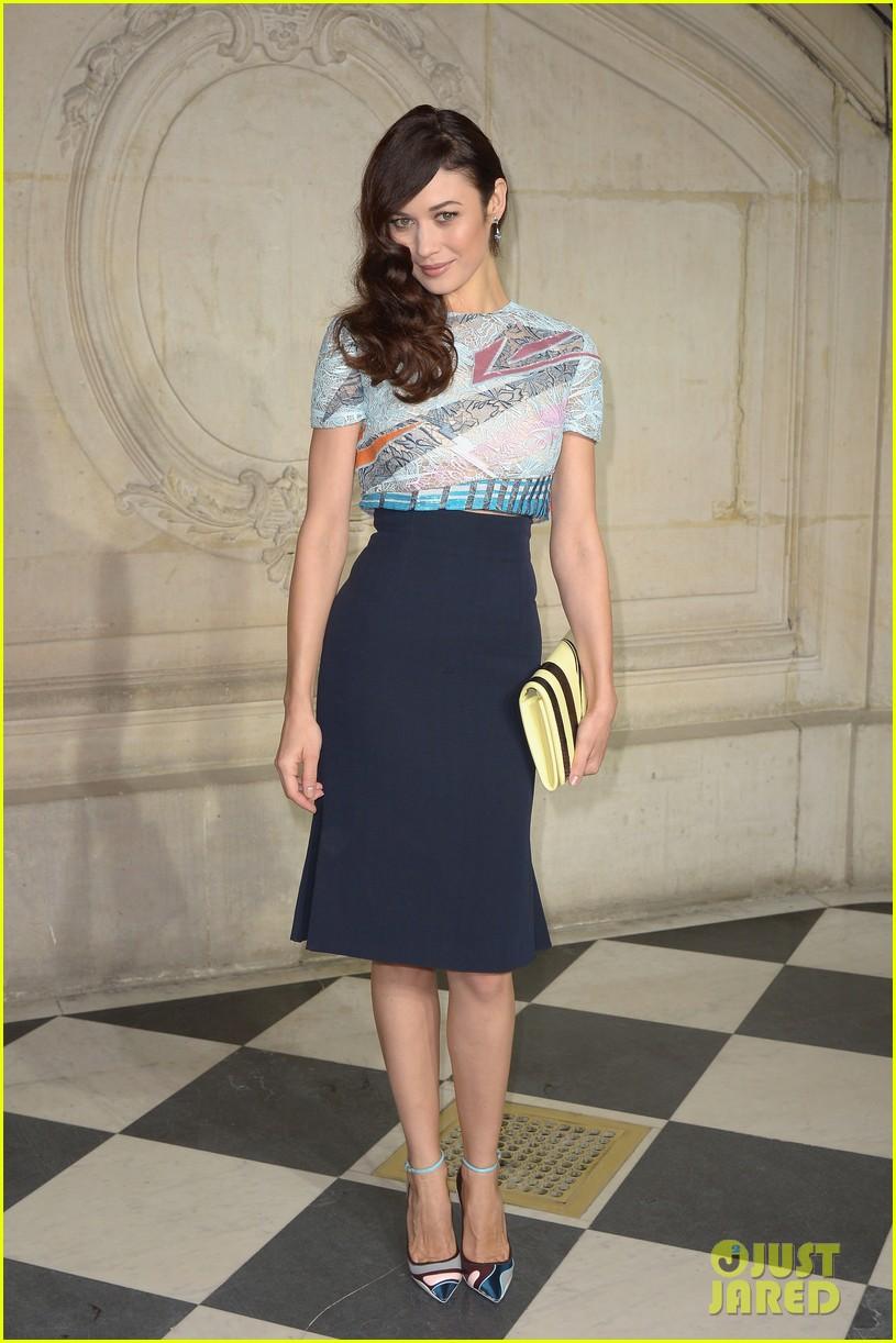 kate bosworth olga kurylenko christian dior paris fashion show 073036331