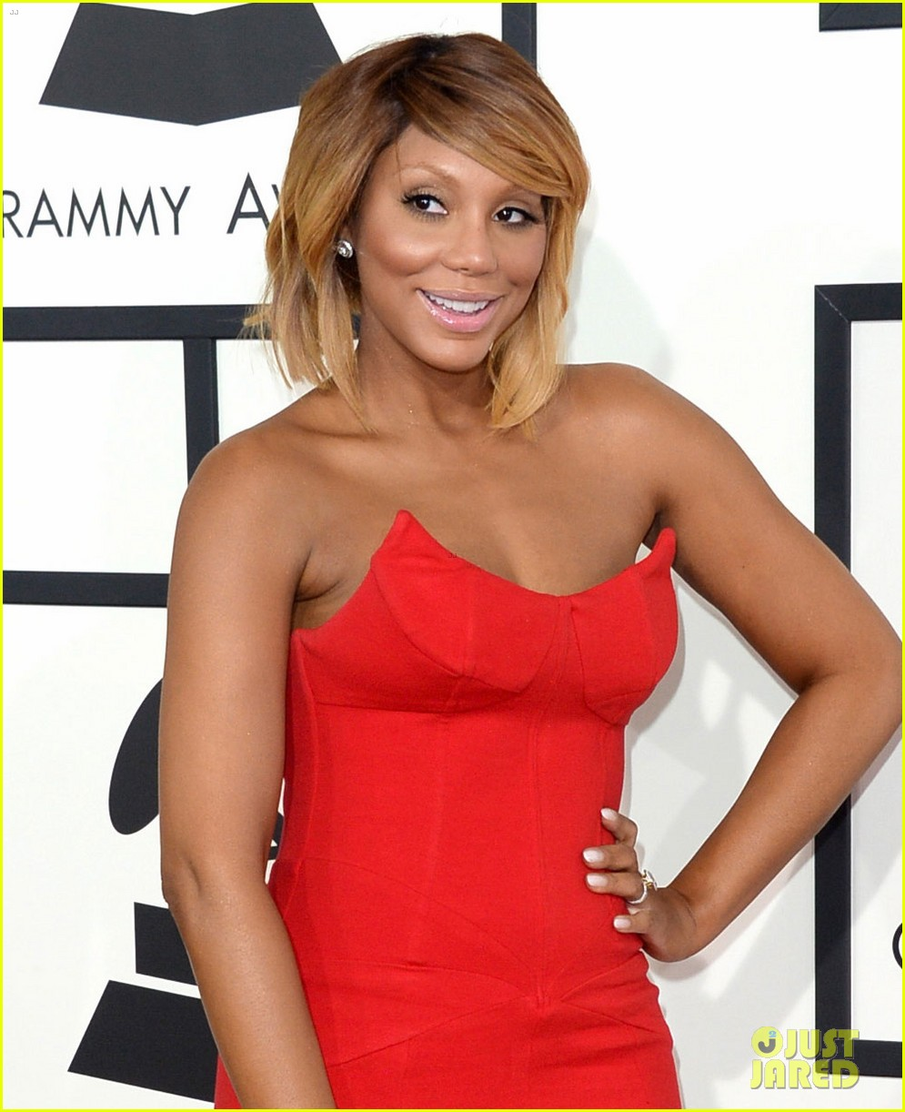 tamar braxton grammys 2014 red carpet 063040983