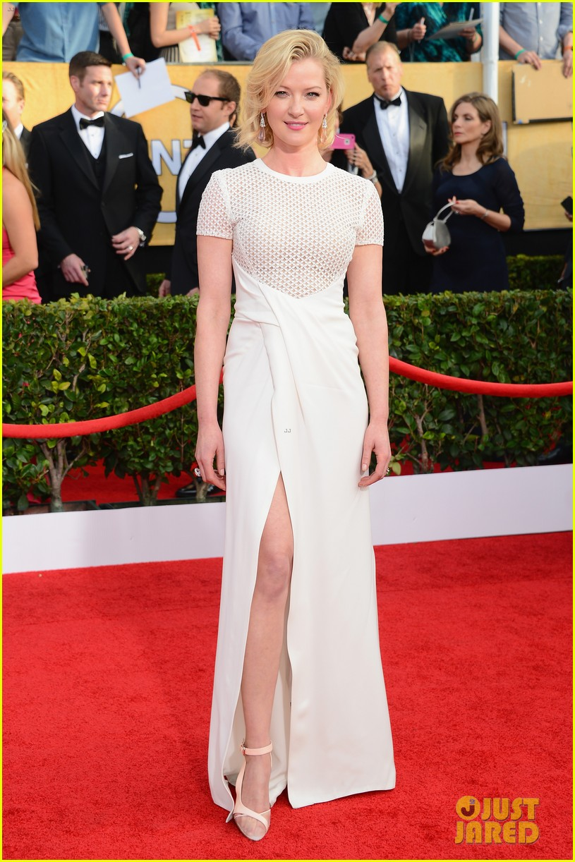 steve buscemi gretchen mol sag awards 2014 red carpet 01