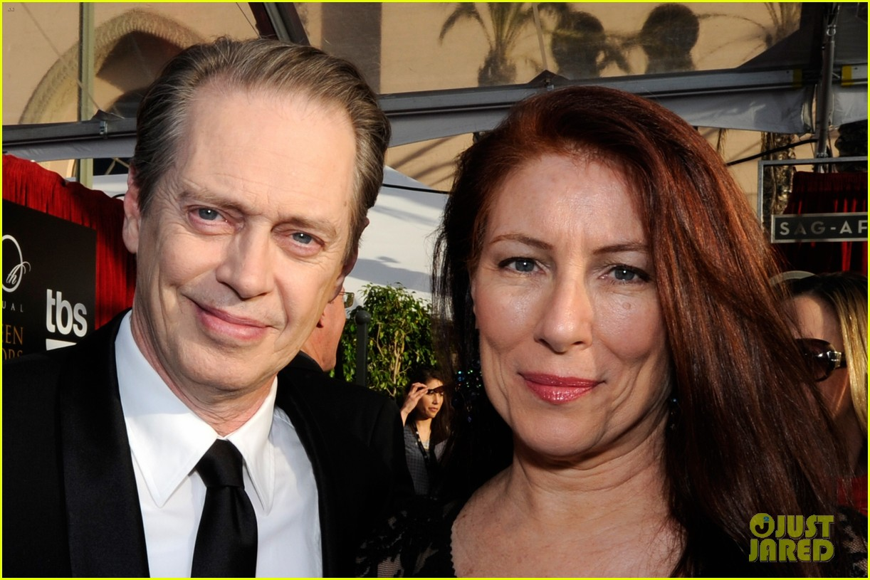 steve buscemi gretchen mol sag awards 2014 red carpet 073035002