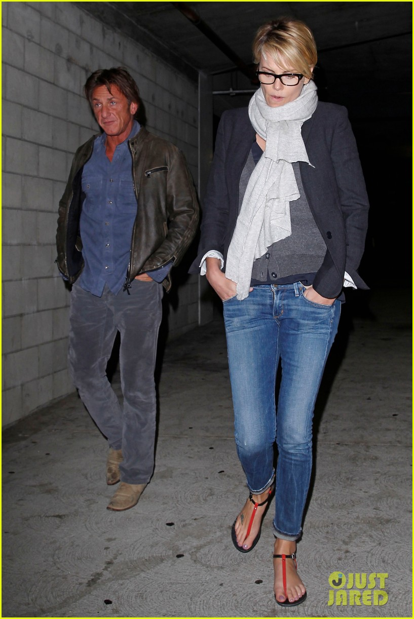 charlize theron sean penn movie date night 01