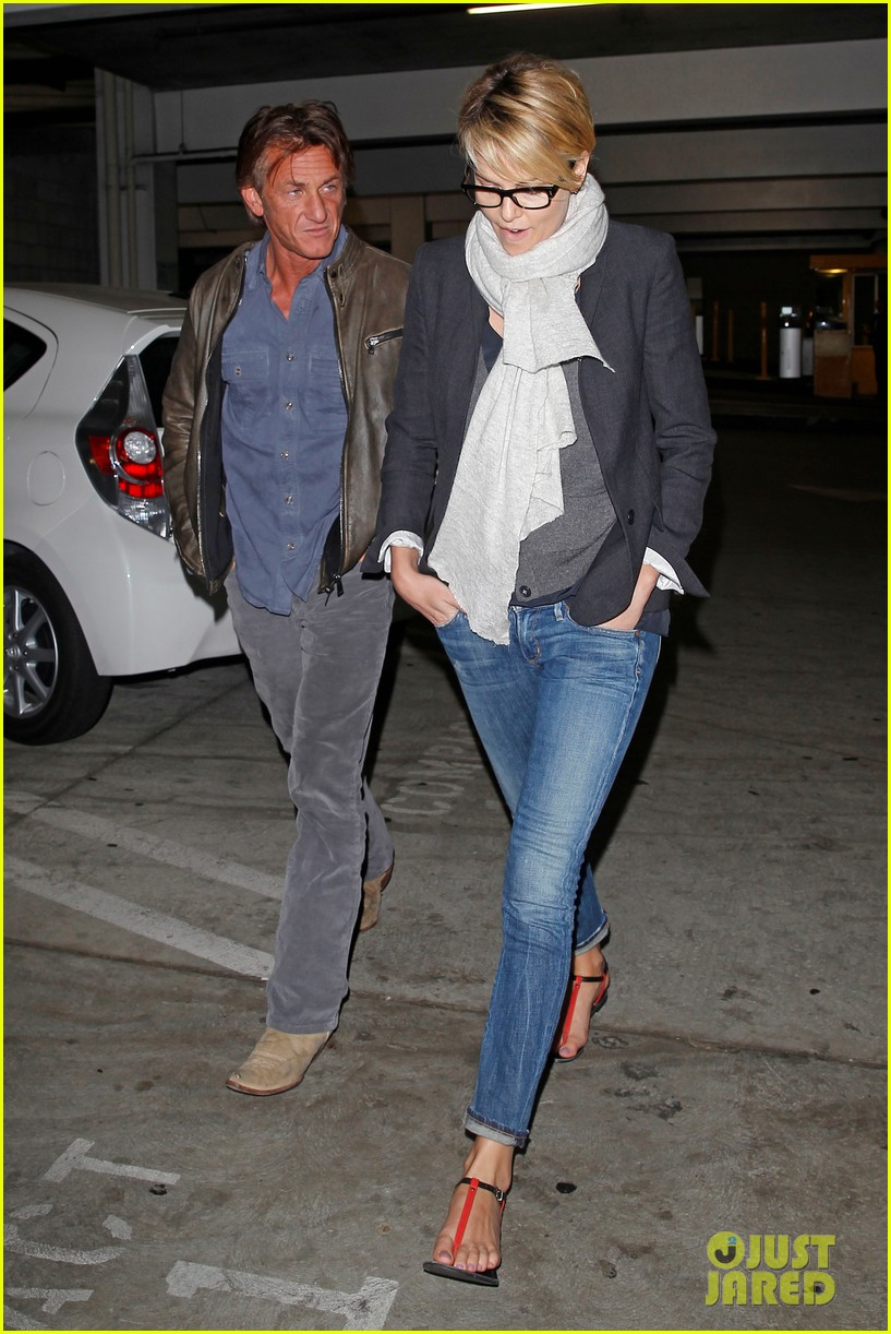 charlize theron sean penn movie date night 13