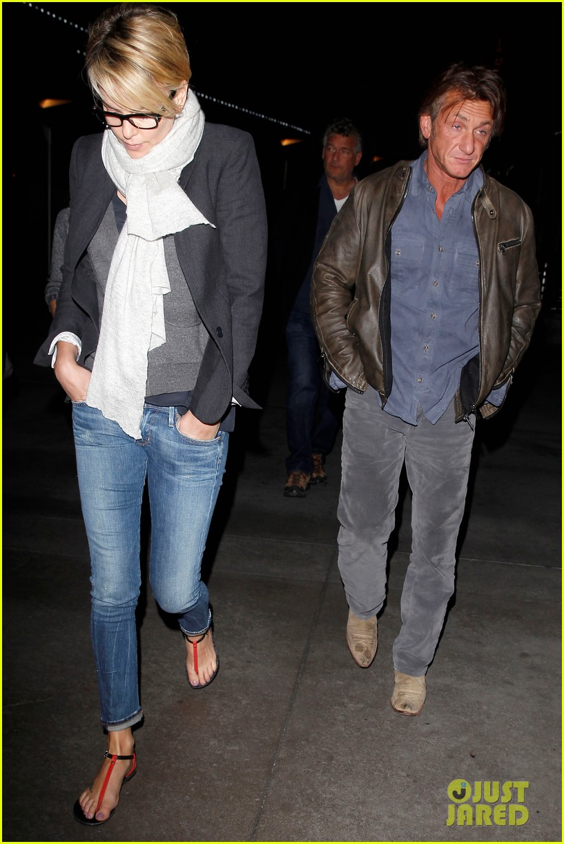 charlize theron sean penn movie date night 19