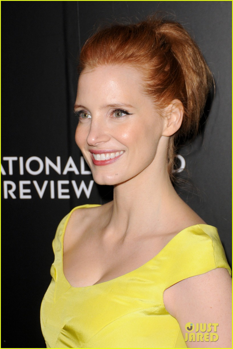 jessica chastain national board of review awards gala 2014 04